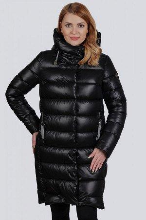 Черный Превосходное пальто полуспортивного стиля. Удобный несъемный капюшон отлично защитит вас от ветра и холода. В качестве утеплителя используется синтепух (синтетический пух).Такой утеплитель пред