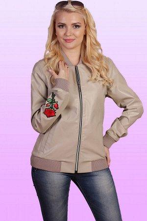 Бежевый Женские куртки из экокожи достойно выдерживают любые перипетии погоды, при этом внешний вид изделий остается весьма презентабельным. Податливый и эластичный материал, структура которого являет