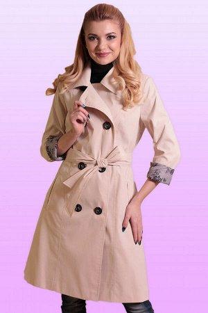 Молочный Плащ – обязательный атрибут образов в классическом стиле, он отлично комбинируется как с юбками и платьями, так и с брюками. Если в вашем гардеробе достойное место занимают элегантные женстве