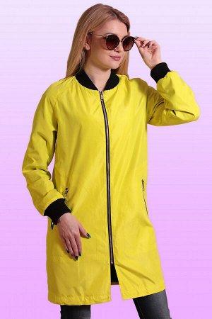 Желтый Современным модницам, которые хотят держать руку на пульсе моды, дизайнеры советуют отдать предпочтение удлиненным бомберам, которые сейчас очень популярны. Они радуют разнообразием расцветок,