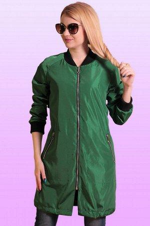 Зеленый Современным модницам, которые хотят держать руку на пульсе моды, дизайнеры советуют отдать предпочтение удлиненным бомберам, которые сейчас очень популярны. Они радуют разнообразием расцветок,