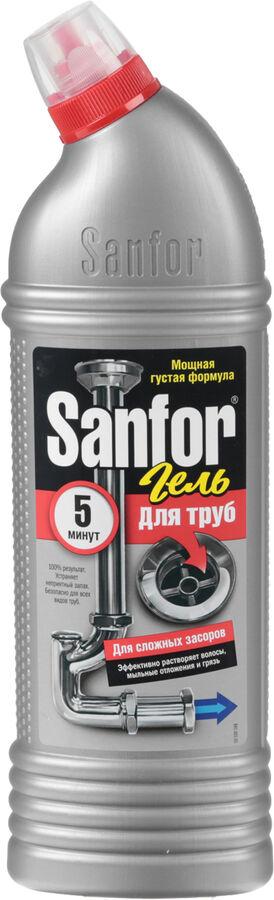 Чист.средство SANFOR 1л д/труб