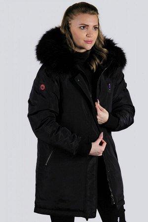Черный Спортивная, стильная модель одежды, современный взгляд на  куртку-аляску. Такая вещь удобна и компактна, не стесняет движений и не создает неудобств. Универсальный вариант, который идеально под