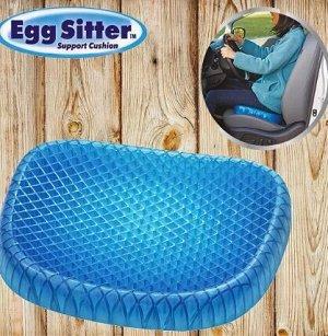 Гелевая подушка на сиденье для снятия напряжения