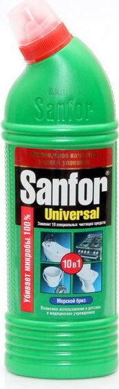 Чист.средство SANFOR 750мл Universal Морской бриз