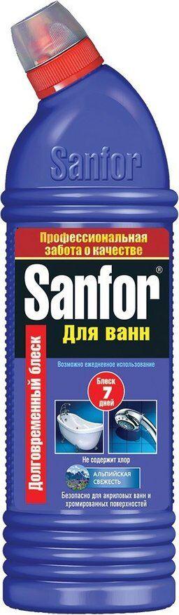 Чист.средство SANFOR 750мл д/ванн Альпийская свежесть