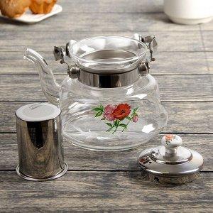 Чайник заварочный «Мари», 1 л, огнеупорный