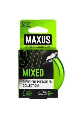 Презервативы MAXUS Набор в железном кейсе № 3, 18 см