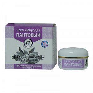 Крем пантовый 7+  Омоложение (крем для лица)