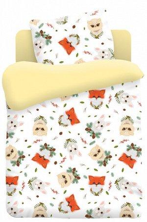 Детское постельное белье из поплина, ясельный, наволочки 40x60 -