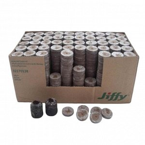 Таблетки торфяные для древесных культур, d = 3,6 см, Jiffy-7 Forestry, набор 640 шт