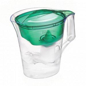 Фильтр-кувшин ТВИСТ (зеленый) 4л кувшин/1,4л воронка