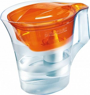 Фильтр-кувшин ТВИСТ (оранжевый) 4л кувшин/1,4л воронка