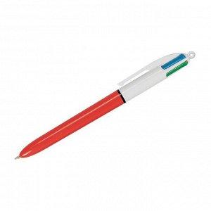 """Ручка шариковая автоматическая """"4Colors"""", 4цв., 1мм, классические цвета"""