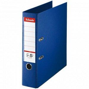 Папка-регистратор Esselte Standard Plus, 80мм, пластик, синяя