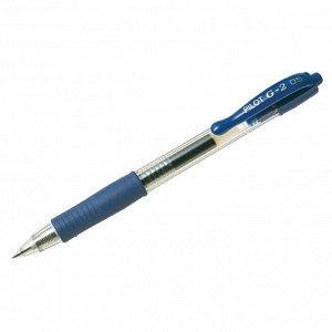 """Ручка гелевая автоматическая """"G-2"""", синяя, 0,5мм, грип"""