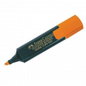 """Текстовыделитель """"1548"""" оранжевый, 1-5мм, заправляемый"""