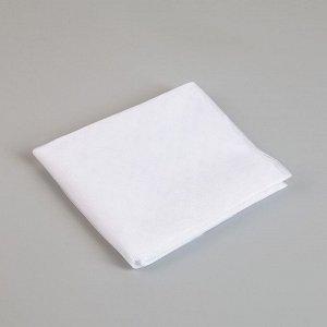 Сетка антимоскитная на окна, 150?130 см, крепление на липучку, цвет белый