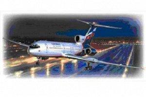 Сборная модель ZVEZDA Самолет Российский авиалайнерТу-154М6