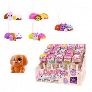 Игрушка в индивидуальной капсуле Cake Pop Cuties, 1 серия, 15 шт. в дисплее, 6 видов в ассортименте240
