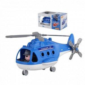 Вертолёт полиция Альфа (в коробке) 29х16,5х15,5 см.8