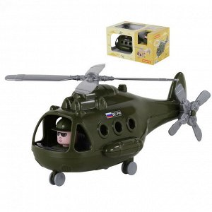 Вертолёт военный Альфа (в коробке) 29х16,5х15,5 см.7