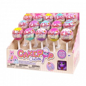 Игрушка в индивидуальной капсуле Cake Pop Cuties, 1 серия, 6 видов в ассортименте.14