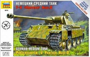 Сборная модель ZVEZDA Немецкий средний танк Пантера T-V Ausf D10