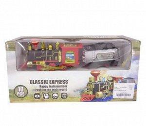 Железная дорога Классический экспресс 31х15х8 см