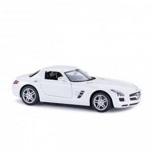 Машина р/у 1:14 Mercedes-Benz SLS AMG, цвет белый 27MHZ1