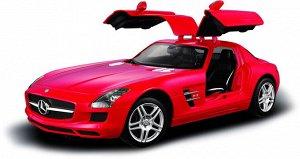 Машина р/у 1:14 Mercedes-Benz SLS AMG, цвет красный 27MHZ60