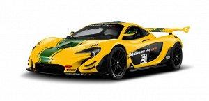 Машина р/у 1:14 McLaren P1 GTR, 33,6*14,2*8,6 см, цвет жёлтый 27MHZ1100