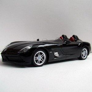 Машина р/у 1:12 Mercedes-Benz SLR, 50х22х20.5см, цвет чёрный 27MHZ225
