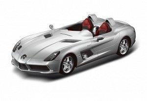 Машина р/у 1:12 Mercedes-Benz SLR, 50х22х20.5см, цвет серебряный 40MHZ459