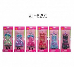 Кукла Defa Вечерний наряд для куклы, набор, 22,5 см, 6 видов32