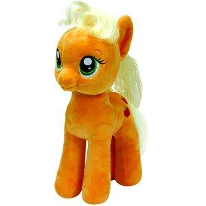 Мягкая игрушка TY My Little Pony Пони Apple Jack 42 см11