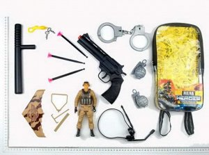 Набор игровой военный в рюкзачке534