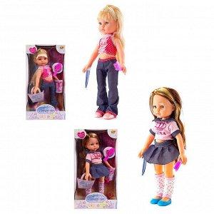 Кукла ABtoys, Модница, в наборе с аксессуарами, 2 вида, 30см83
