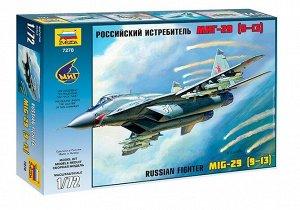 Сборная модель ZVEZDA Российский истребитель МиГ-29(9-13)10
