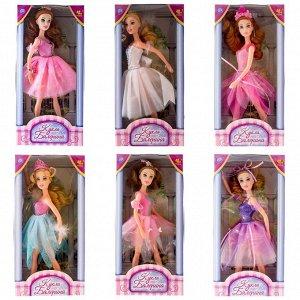 Кукла ABtoys, Балерина, 30 см, 6 видов1442