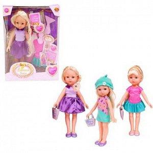 """Кукла """"Весенний вальс"""", 23 см, в наборе с аксессуарами, 3 вида в ассортименте"""