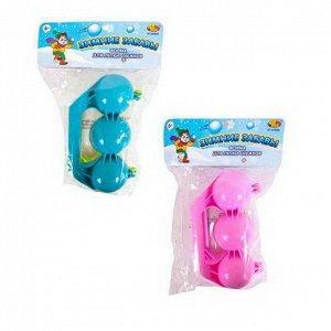 Игрушка для лепки снежков ABtoys Зимние забавы тройная, в пакете, 2 цвета673