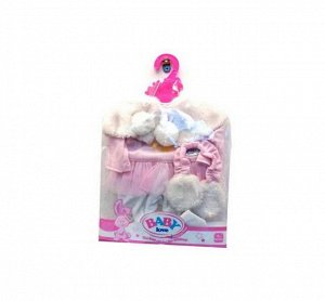 Комплект зимней одежды для кукол: костюмчик и меховые наушники92
