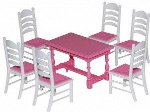 Набор мебели для кукол №6, 7 элементов11