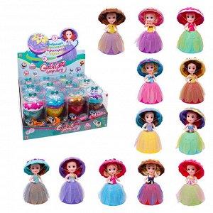 Кукла-мороженка EMCO, Gelato Surprise, 12 видов, расческа в наборе655