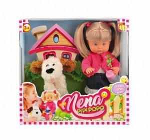 Кукла DIMIAN NENA в наборе с собакой 36 см (без звука)235