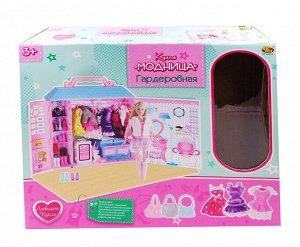 Кукла ABtoys, Модница, 30 см, в наборе с гардеробной, 84 предмета13