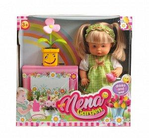 Кукла DIMIAN NENA набор с цветком, 36 см161