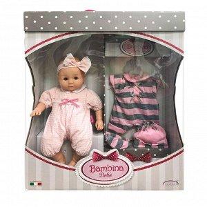 Кукла DIMIAN Bambina Bebe Пупс мягконабивной 36 см6