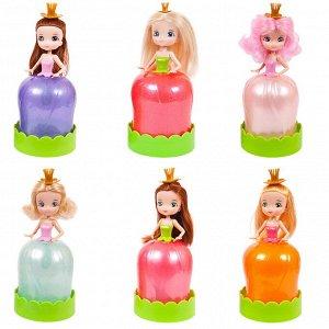 """Куколка """"Floraly Girls"""" в пластиковой тубе, 6 штук в ассортименте"""